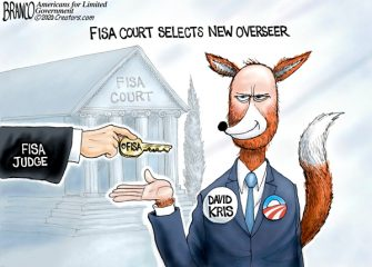 A.F. Branco Cartoon – FISA Fox News