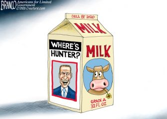 A.F. Branco Cartoon – Milk Dud