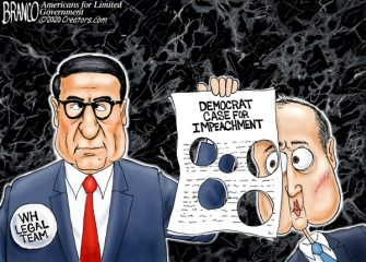 A.F. Branco Cartoon – Holy Impeachment