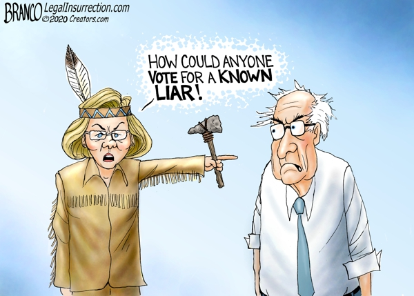 Warren and Bernie Liar Liar
