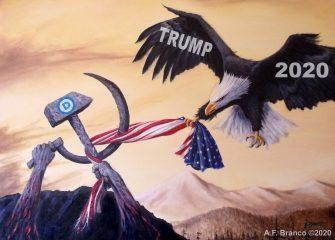 Free Printable Trump-Eagle 2020 Poster