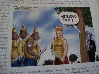 Limbaugh Letter Uses A.F. Branco Cartoon