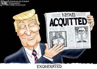 A.F. Branco Cartoon – It Was All BS