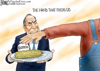 A.F. Branco Cartoon – Farmers' Lives Matter