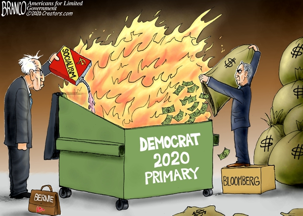 Democrat Dumpster Fire