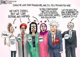 A.F. Branco Cartoon – FOB, Friends Of Bernie