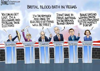 A.F. Branco Cartoon – Knives Out