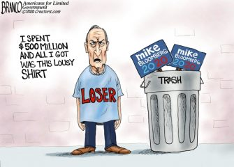 A.F. Branco Cartoon – Mike Can't Get It Done
