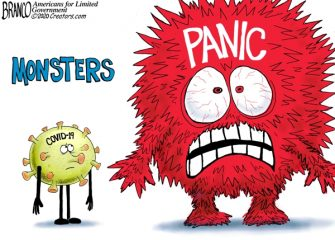 A.F. Branco Cartoon – Monsters