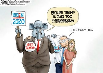 A.F. Branco Cartoon – Creepy for President