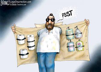 A.F. Branco Cartoon – Paper Pusher