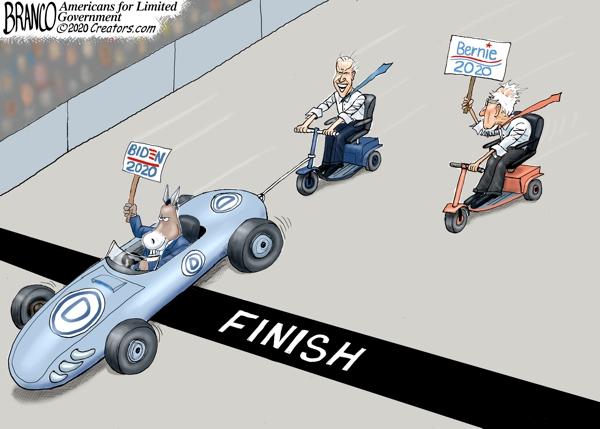 Biden Pulling Ahead