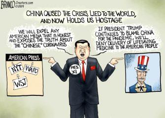 A.F. Branco Cartoon – Chinese Virus
