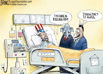 A.F. Branco Cartoon – Bedside Manners