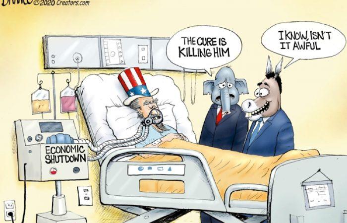 A.F. Branco Cartoon – Bedside Manners