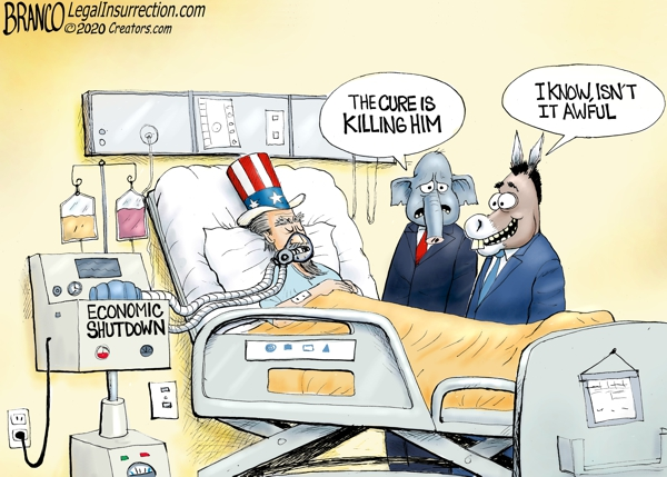 Coronavirus Cure Killing America