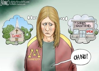 A.F. Branco Cartoon – Church vs State