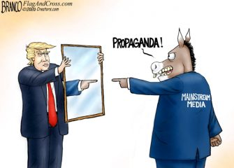 A.F. Branco Cartoon – Man in the Mirror