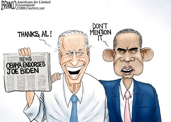 Obama Endorses Biden