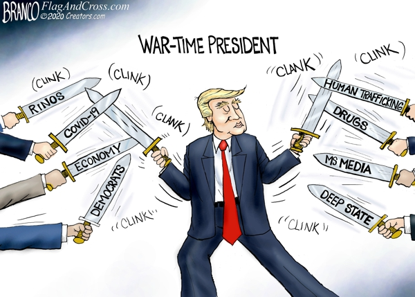 Trump War-Time President