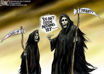 A.F. Branco Cartoon – Our Worst Nightmare