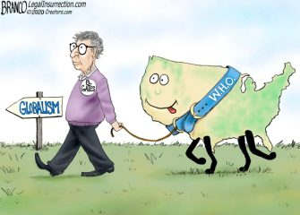 A.F. Branco Cartoon – W.H.O. Let the Dogs Out
