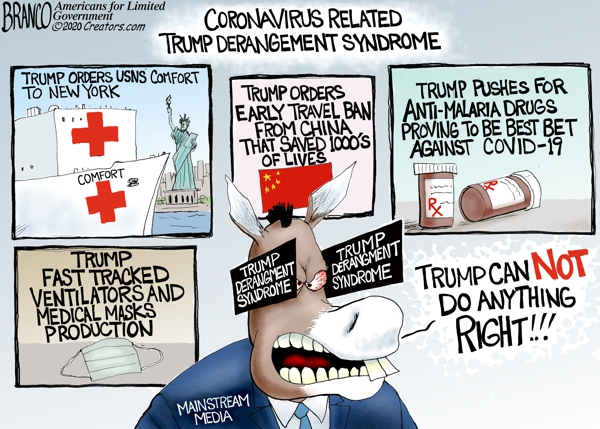 Coronavirus Trump Derangement Syndrome