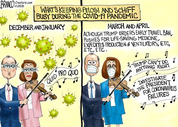 Pelosi and Schiff Fiddling