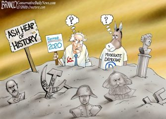 A.F. Branco Cartoon – Heap of Trouble