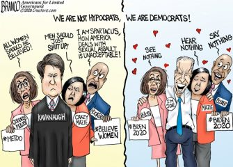 A.F. Branco Cartoon – Hypocrats