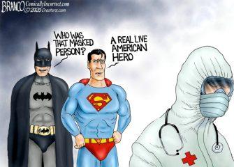 A.F. Branco Cartoon – Hero Worship