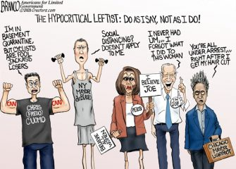 A.F. Branco Cartoon – Hypo-Left