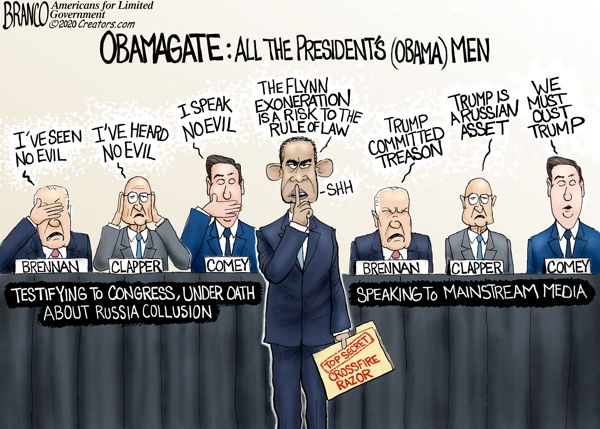 Obamagate and His Men