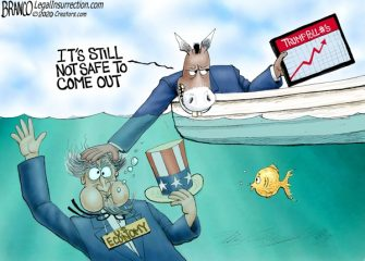 A.F. Branco Cartoon – Underwater