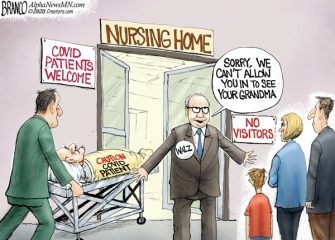 A.F. Branco Cartoon – COVID Home