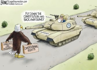 A.F. Branco Cartoon – Stand Your Ground