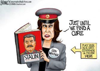 A.F. Branco Cartoon – Supreme Leader