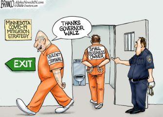 A.F. Branco Cartoon – Jail Break