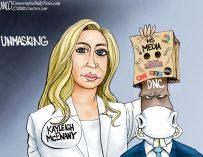 A.F. Branco Cartoon – Unmasking