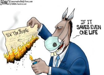 A.F. Branco Cartoon – Ashes, Ashes We All Fall Down