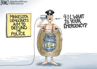 A.F. Branco Cartoon – Naked Police