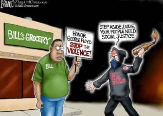 A.F. Branco Cartoon – Feel the Burn