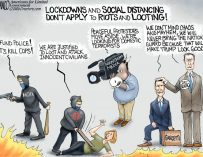 A.F. Branco Cartoon – Peaceful Riots
