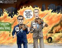 A.F. Branco Cartoon – Fiddle Dee and Fiddle Dumb