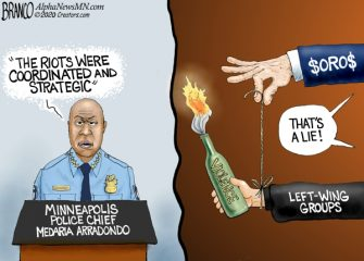 A.f. Branco Cartoon – Pulling the Strings