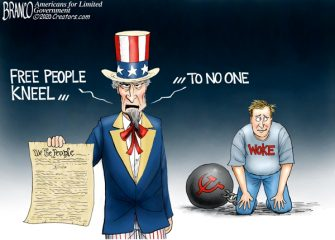A.F. Branco Cartoon – Stand for Freedom