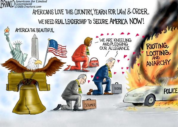 Kneeling Democrats