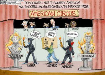 A.F. Branco Cartoon – American Circus