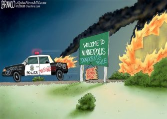A.F. Branco Cartoon – All Burned Out