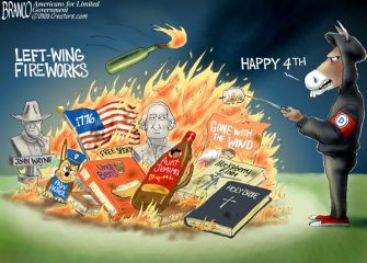 A.F. Branco Cartoon – Anti-Independence Day